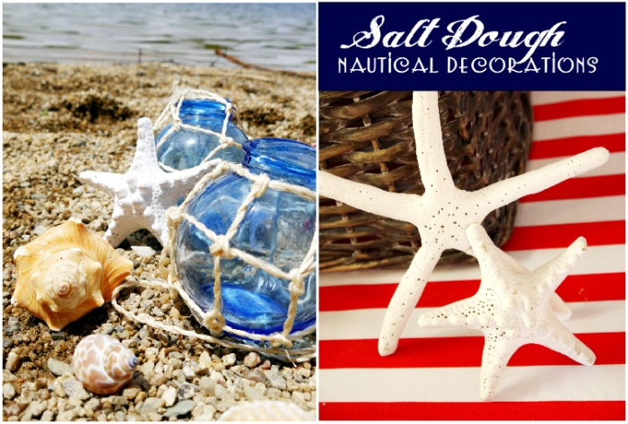 Nautical Party | DIY Salt Dough Starfish Craft Tutorial - BirdsParty.com