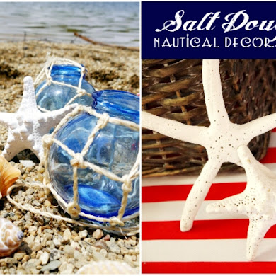 Nautical Party | DIY Salt Dough Starfish