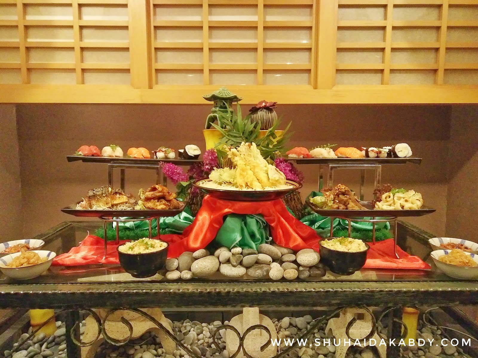 All You Can Eat di Agehan Japanese Restaurant Hotel Grand Bluewave Shah Alam