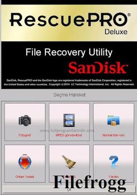 SanDisk RescuePRO Deluxe Full Version