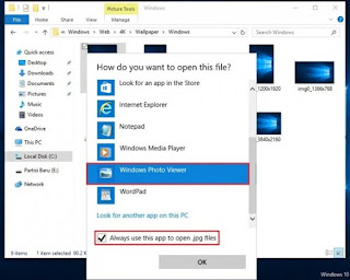 Cara Mengembalikan Windows Photo Viewer Windows 10