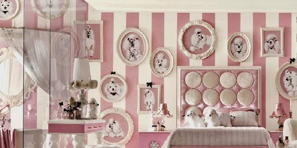 Dormitorios rosa para adolescentes colores en casa for Espejos habitacion juvenil
