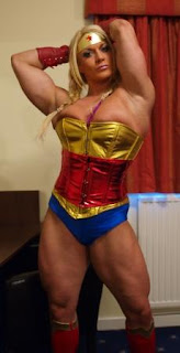 Lisa Cross wonder woman