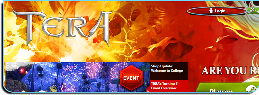 Tera Online: Happy 5th Birthday TERA!!! Game Code & More