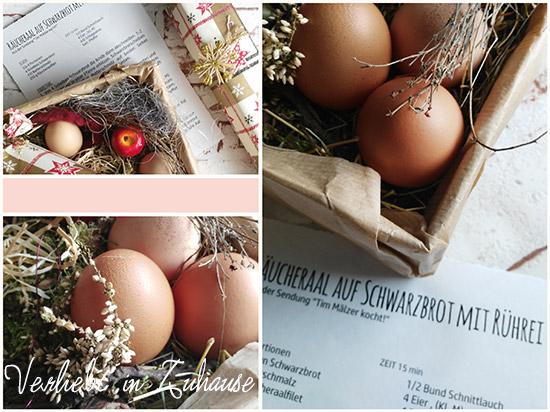 Geschenke aus der Küche: Ideen mit westfälischen Pumpernickel (Schwarzbrot)