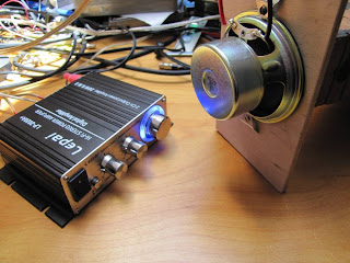 "Lepai amplifier with ""Poor Man's Horn Driver"""