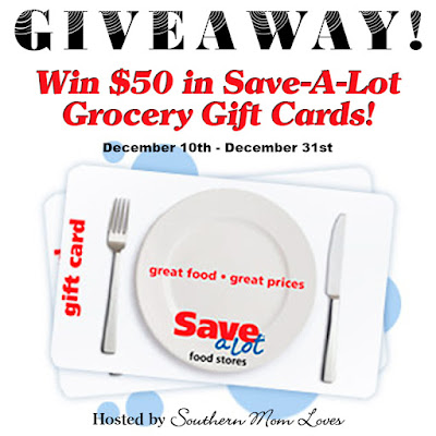 Save-A-Lot $50 Gift Card Giveaway. Ends 12/31