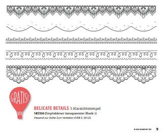 Stempelset Deilcate Details von Stampin Up