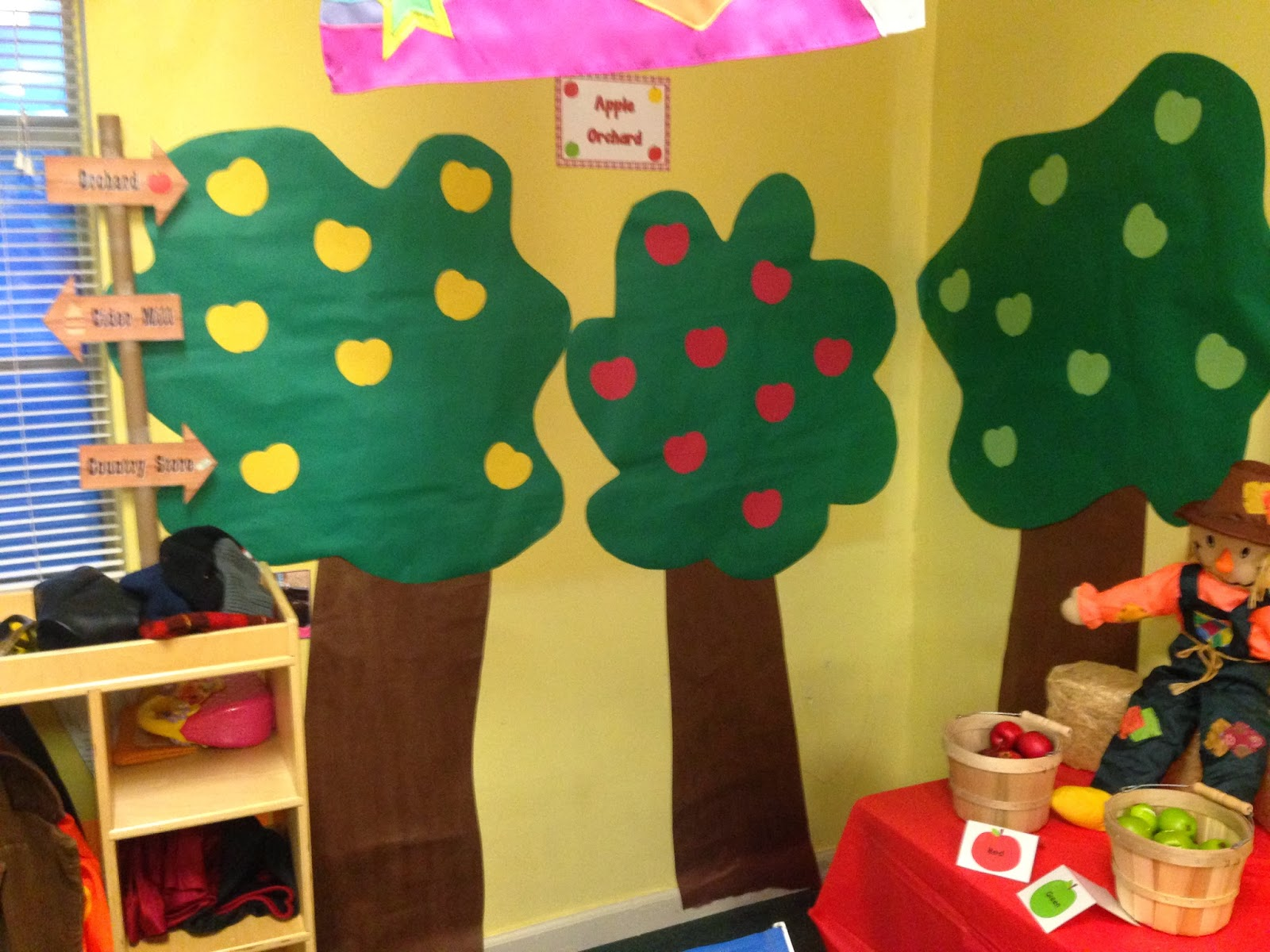 123 Learn With Me Dramatic Play Apple Orchard