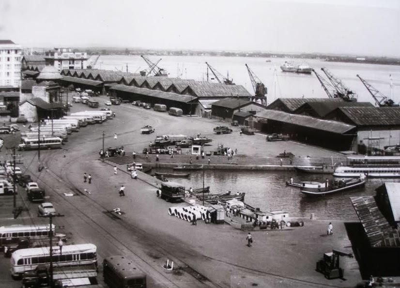 Cais do Porto de Porto Alegre, 1950