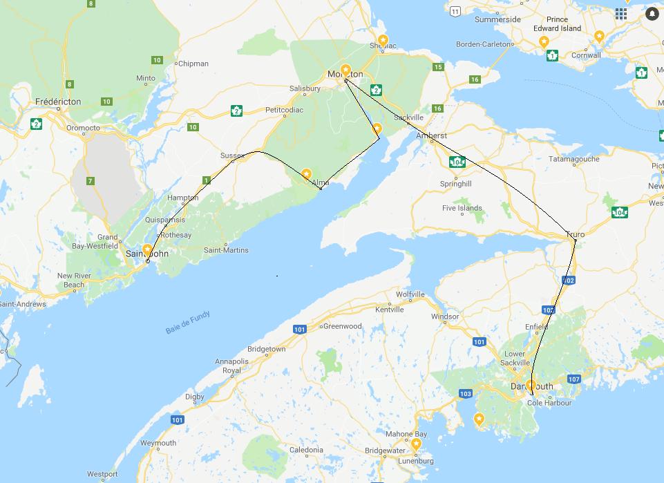 road trip dans l u0026 39 est canadien -  u00c9tape 7