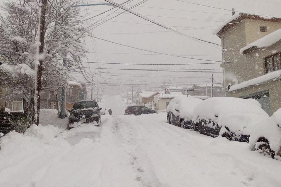 Sin limpieza de calles si nieva permanentemente
