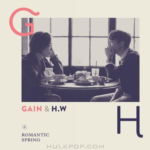 GAIN, Cho Hyung Woo – Romantic Spring- EP (ITUNES PLUS AAC M4A)
