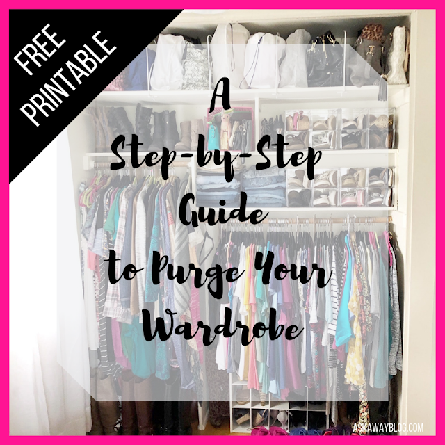 Purge Your Wardrobe with my FREE Step-by-Step Guide!