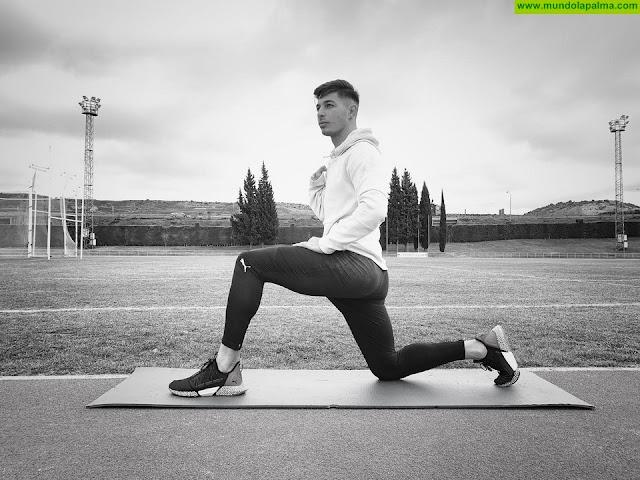 El atleta Carlos Pérez de Santa Cruz de La Palma será mundialista en Dubái