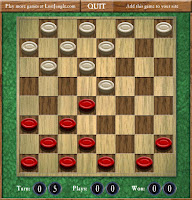 Here is the online version of #Checkers broaght to you by #LostJungle! #VirtualBoardGames