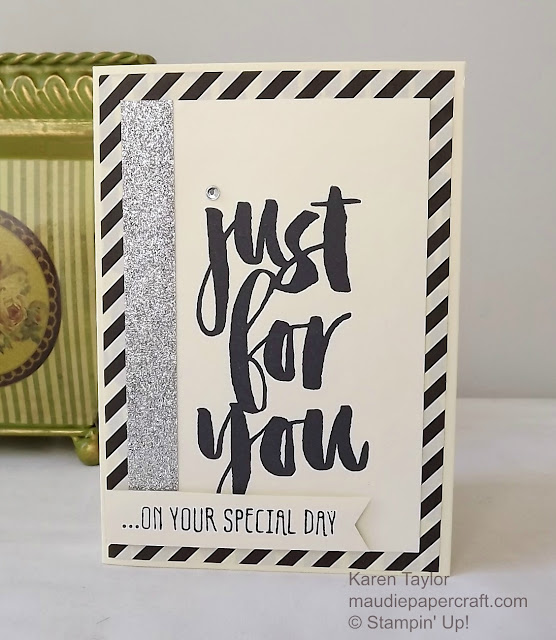 Stampin' Up! Botanicals For You card