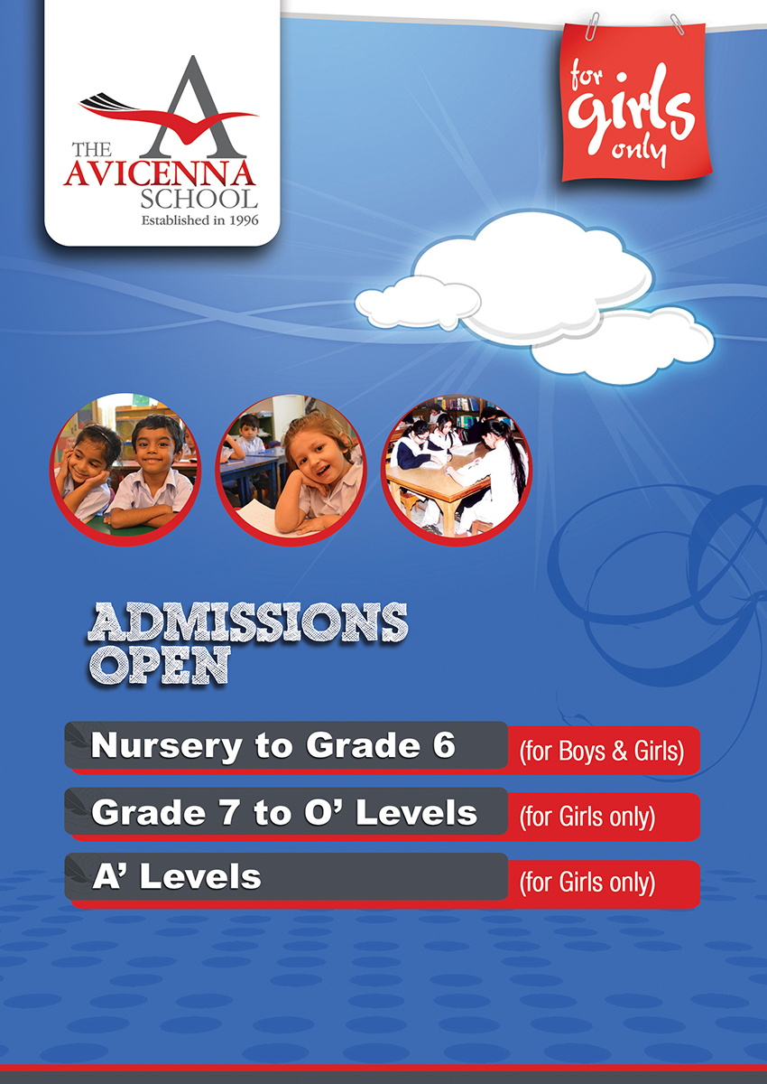For admission