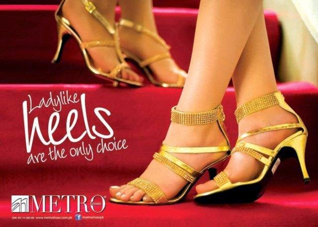 Metro Shoes Women Eid-UL-Fitr Collection 2014 fashionwearstyle.com