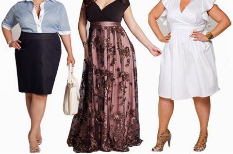 model baju dress untuk orang gemuk 2016