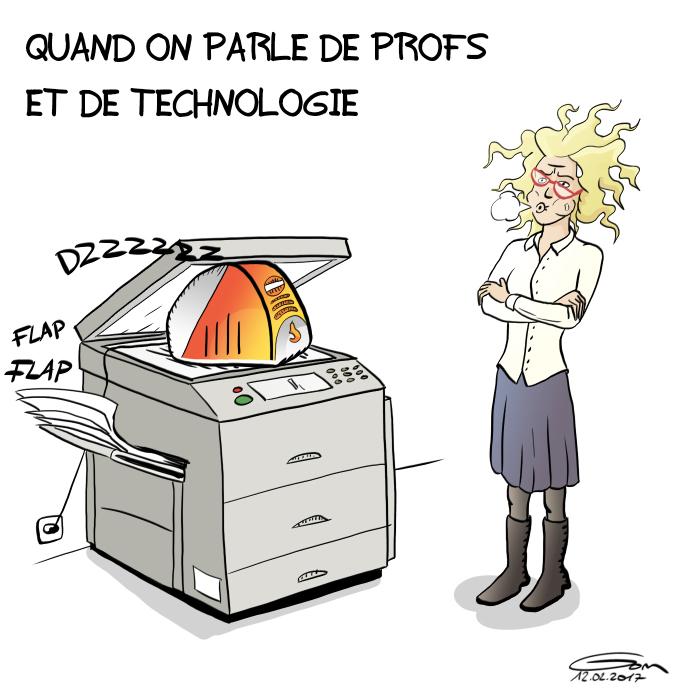 les profs et la technologie
