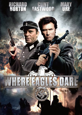 Poster Of Where Eagles Dare (1968) In Hindi English Dual Audio 300MB Compressed Small Size Pc Movie Free Download Only At worldfree4u.com