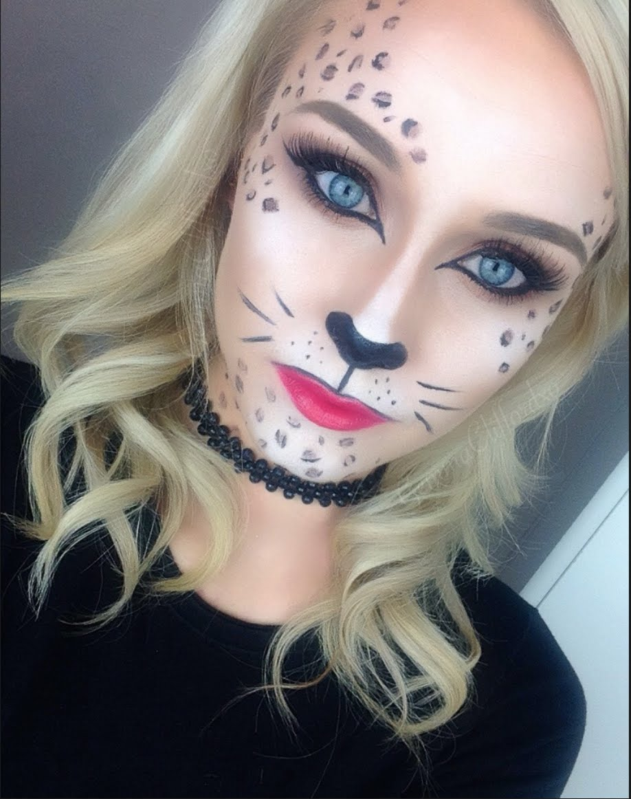 Basic Cat Face Paint Cheshire