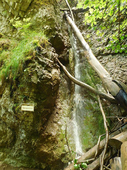 Vodopád Ochrancov prírody.