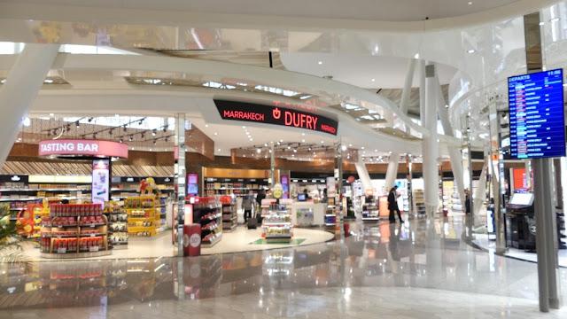 Flughafen Marrakesch-Menara - Duty Free Shop