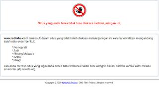 Cara Memblokir Situs Negatif Dengan DNS Nawala Pada Mikrotik