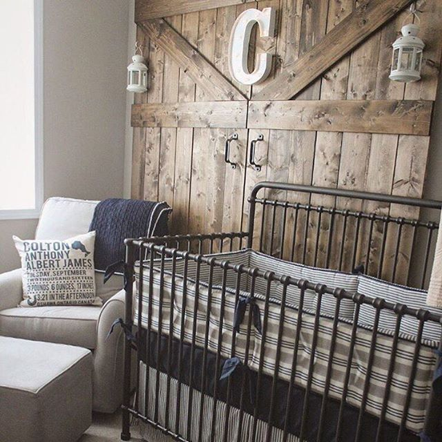 rustic baby nursery designs wire baby bedding set chair with cushion