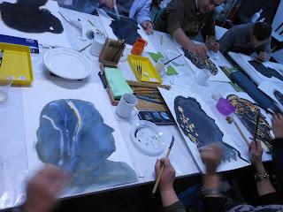 Arte-Encuentros: Hablar menos y dibujar más