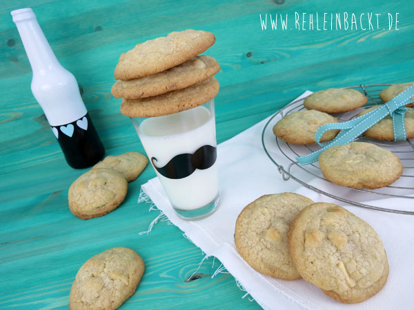 White Chocolate and Macadamia Nut Cookies nach Roy Fares, wie bei Subway, Foodblog rehlein backt