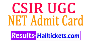 UGC NET Admit Card 2017 Exam Hall Ticket Download