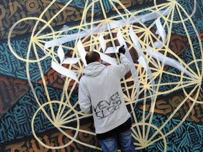 Solo Cink graffiti