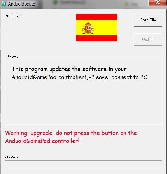 Como actualizar el Gamepad WAMO PRO G910