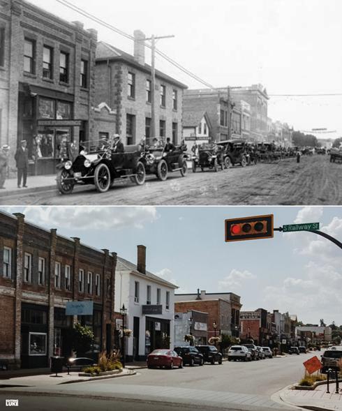 Medicine Hat Alberta Then Now Photography