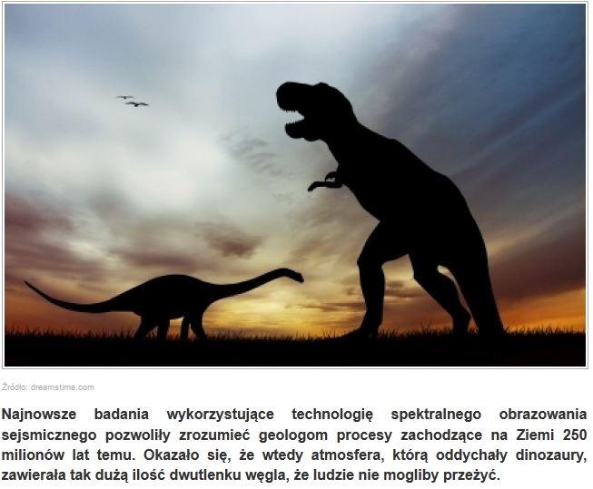 skamieliny dinozaurów datowane na węgiel
