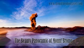 The Beauty Panoramic of Mount Bromo