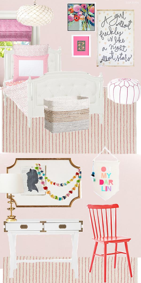Teenage Rooms: Pretty In Pink Girl's Room Design