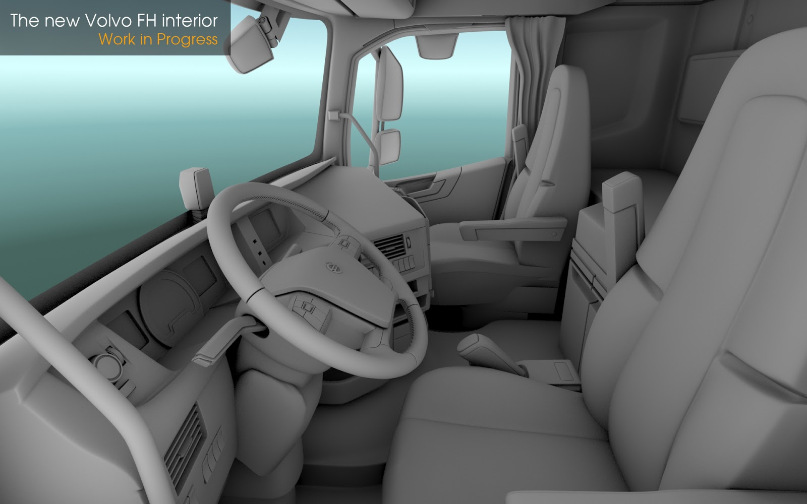 SCS Software's blog: The New Volvo FH Series news