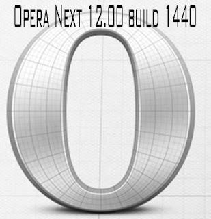 Opera Next 12.00 build 1440