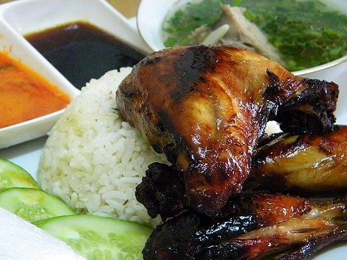 Resepi Nasi Ayam Madu Pilihanku