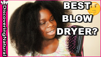 BEST BLOW DRYER for Natural Hair? | Revlon One-Step Hair Dryer and Styler | DiscoveringNatural