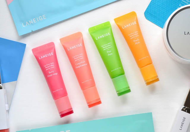 Laneige Lip Glowy Balms Review