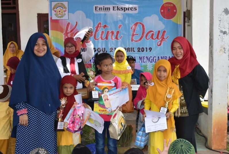 Peringati Hari Kartini Sebanyak 150 Anak Ikuti Lomba Mewarnai