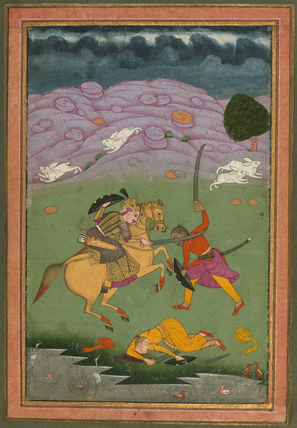 Nata ragini - Miniature Painting, Ragamala Series, 19th Century