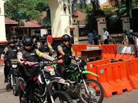 Berikan Rasa Nyaman, Polisi Gresik Lakukan Patroli