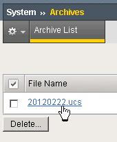 How To Download Ucs File From F5