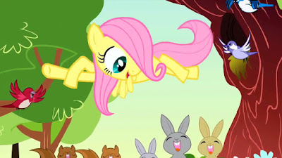 "Fluttershy singing ""So Many Wonders"""